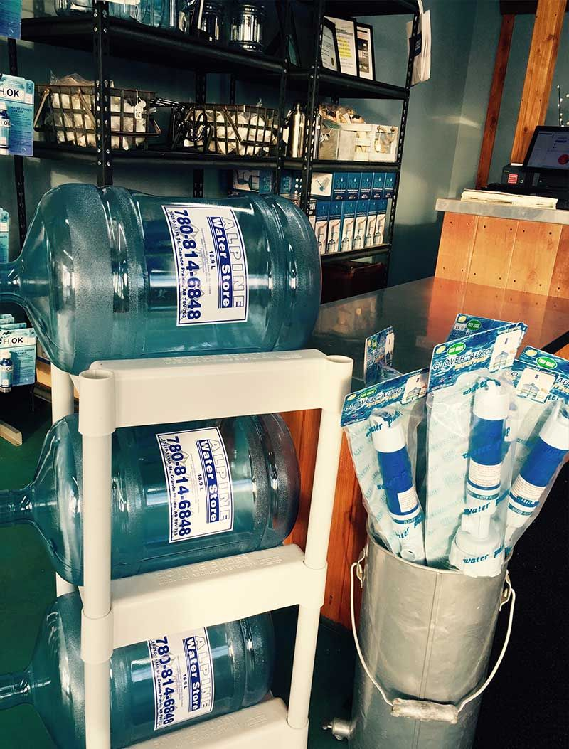 24-Hour Water Cooler Refills Grande Prairie | Water