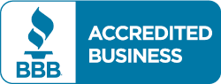 Accredited Business with the Better Business Bureau (BBB)