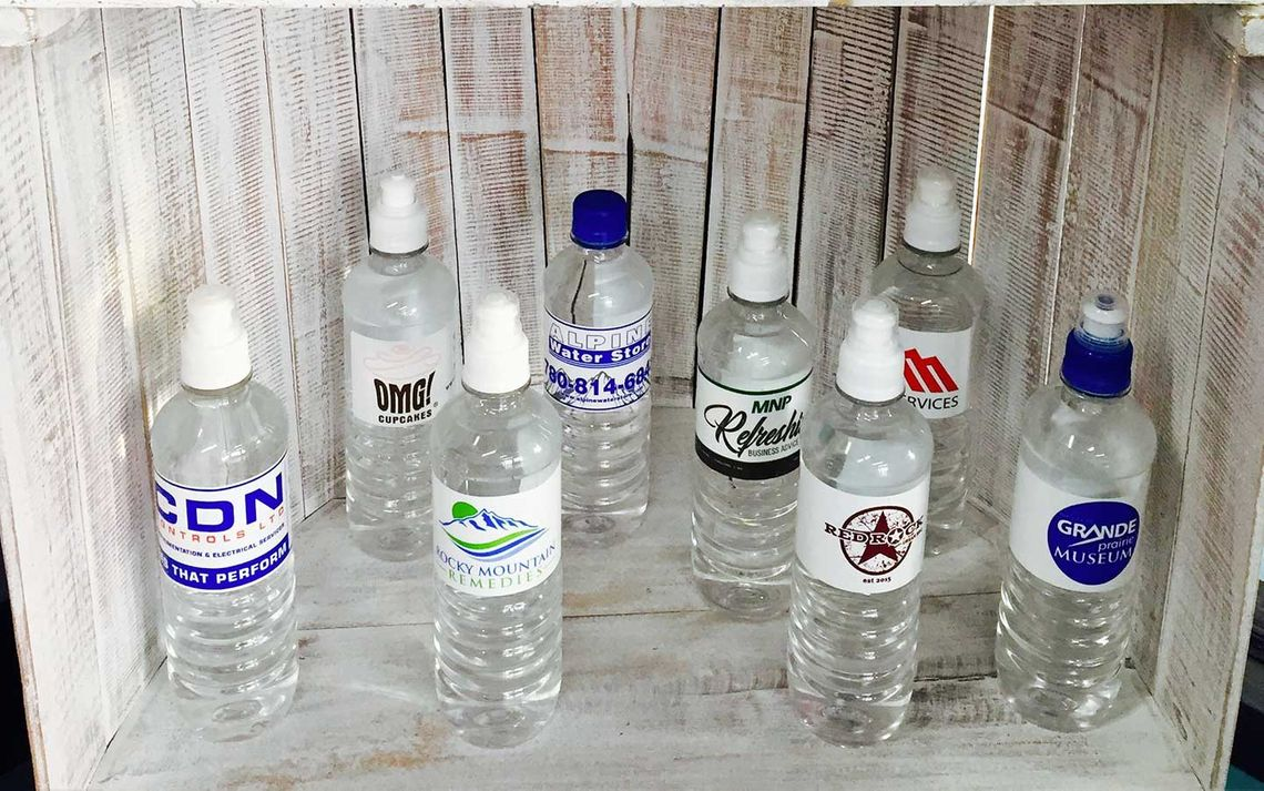 customized water labels